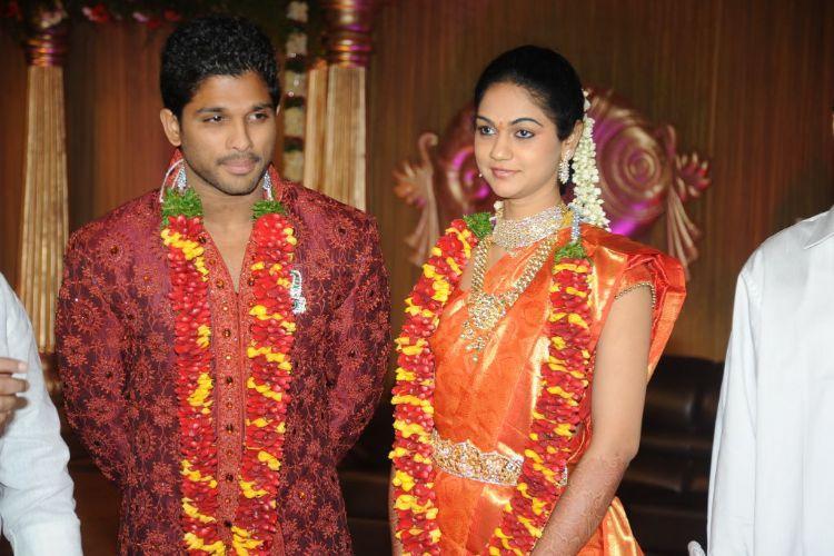 Allu Arjun and Sneha Reddy Latest Pic