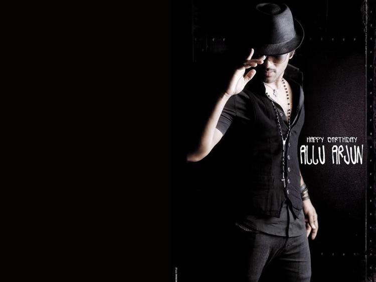 Allu Arjun Latest Stylist Still