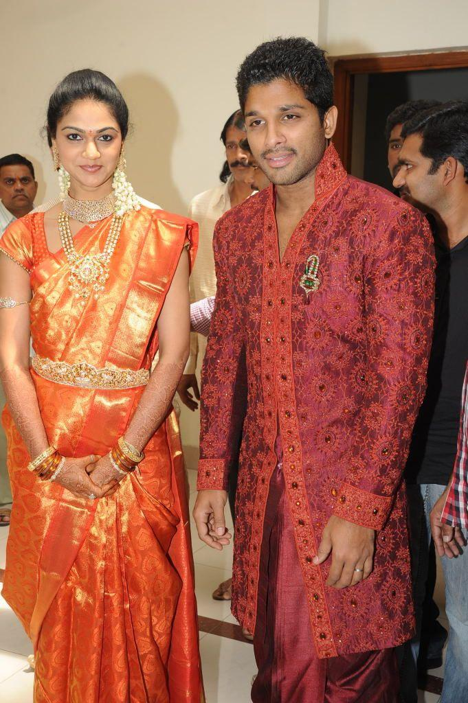 Allu Arjun Reception Photo