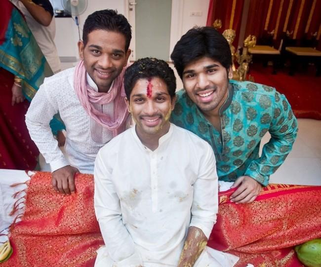 Allu Arjun Very Cute Pose Photo Shoot