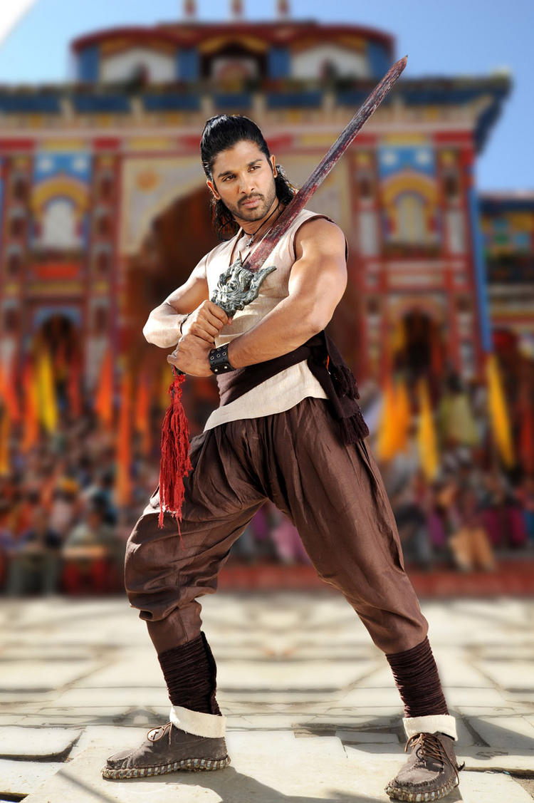 Badrinath Movie Allu Arjun Fighting Pic