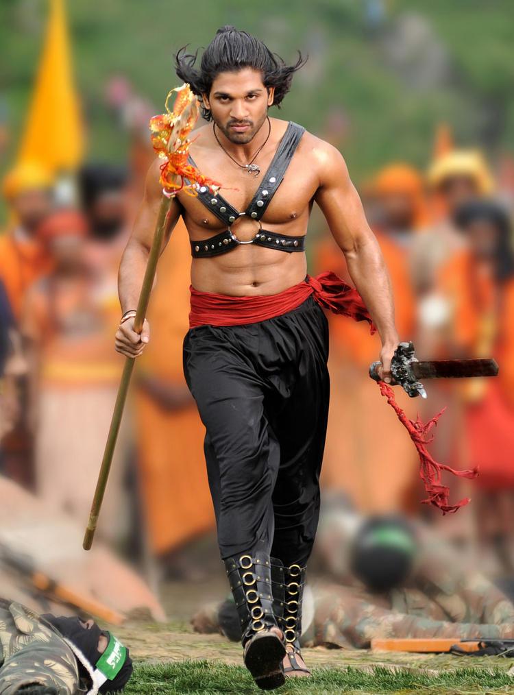 Badrinath Movie Allu Arjun Latest Angry Pic