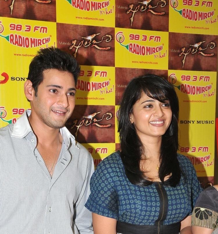 Mahesh and Anushka Kaleja Audio Release Function Photo