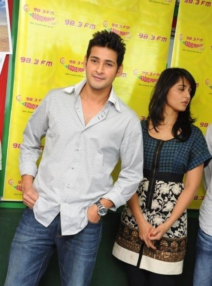 Mahesh and Anushka Kaleja Audio Release Function Still