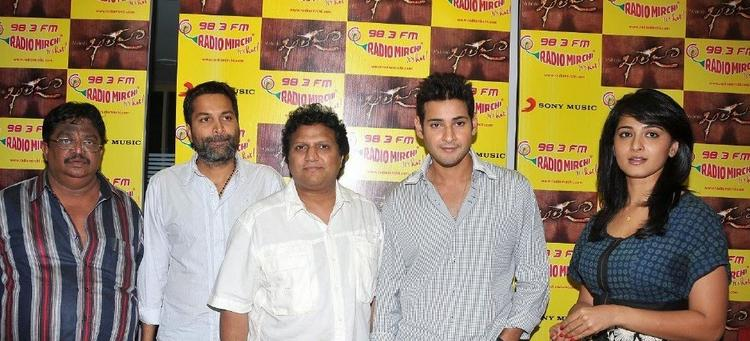 Mahesh,Anushka and Other at The Audio Release Kaleja