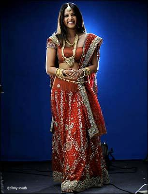 Anushka Shetty Sweet Still In Beautiful Dress
