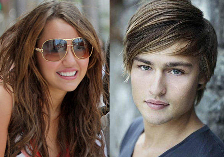 Miley Cyrus and Douglas Booth Beauty Still