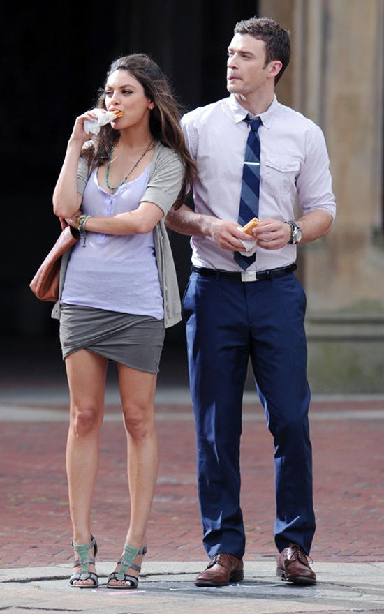 Friends with Benefits Movie Justin Timberlake and Mila Kunis Pic