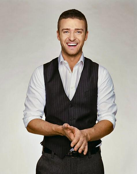 Justin Timberlake With open Smile Pic