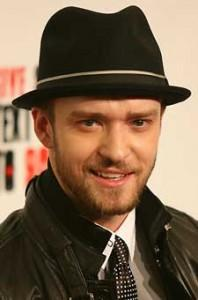 Justin Timberlake Sexy Look Wearing Hat