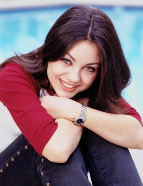 Mila Kunis Sweet Smile Pic