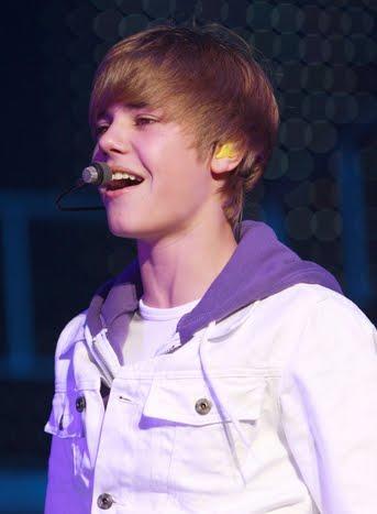 Rock Star Justin Bieber Performance Photo