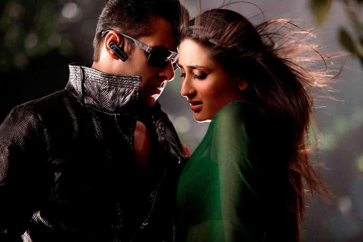 Salman With Kareena Kapoor In Bodyguard