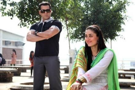 Salman Khan And Kareena Kapoor In Bodyguard