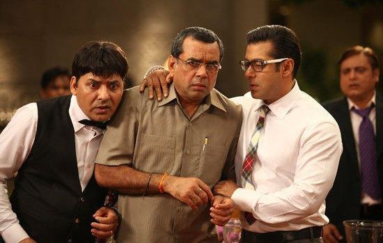 Salman Khan And Paresh Rawal In Ready Stills