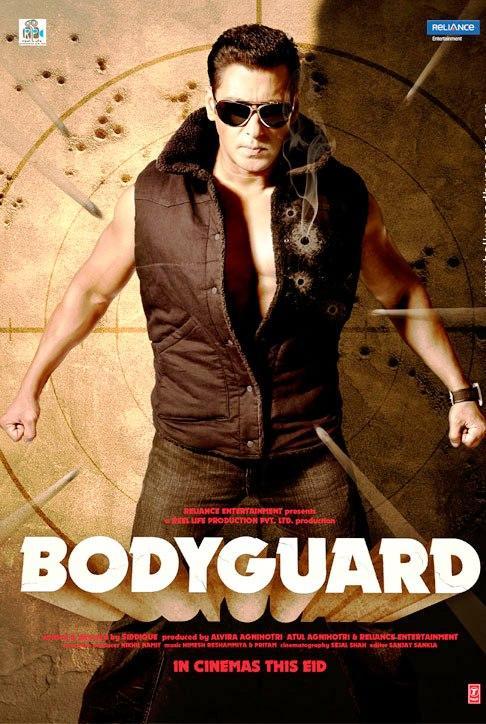 Salman Khan Bodyguard Movie Poster
