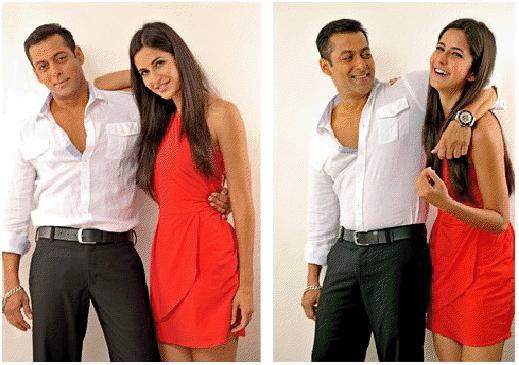 Salman Khan With Katrina Kaif In Ek Tha Tiger