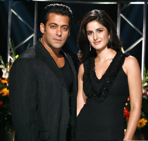 Salman Khan With Katrina Kaif Glamour Look Pic