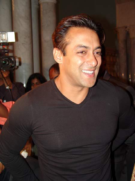 Salman Khan Sweet Smiling Pic