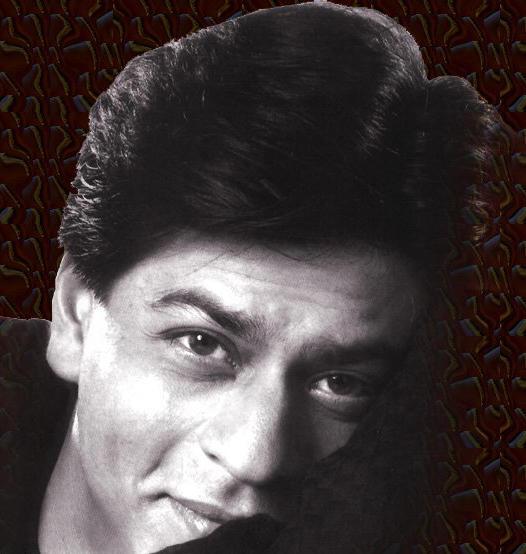 Shahrukh Khan Close Up Smiling Stills