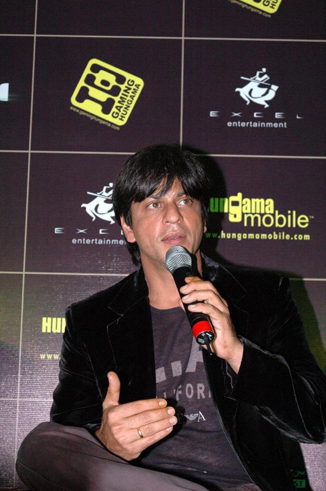 Shahrukh Khan Press Meet Stills