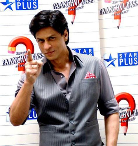 Shahrukh Khan Smiling At Star Plus