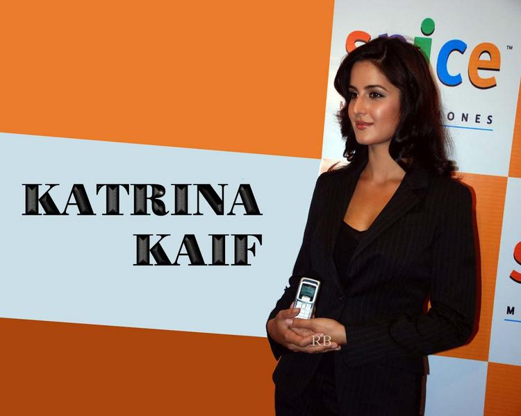 Katrina Kaif Ambassador For Spice Mobile