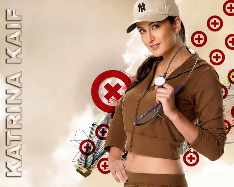 Katrina Kaif Hot and Sexy Pose Wallpaper