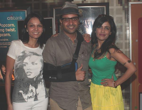 Seema,Ash and Shibani During The Special Screening Of Love Wrinkle Free
