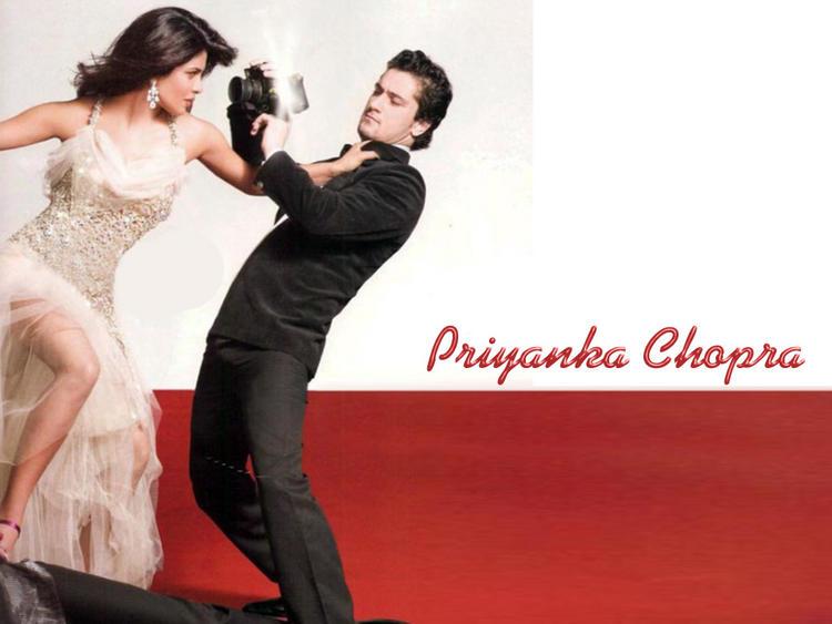 Priyanka Chopra Angry Pose Wallpaper