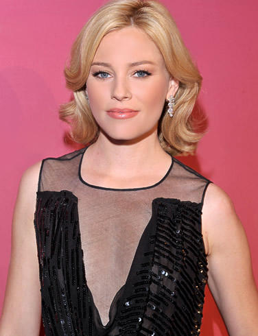 Elizabeth Banks Cute Hairstyle Fairy Look Photo