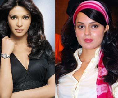 Priyanka Chopra and Kangana Ranaut Beauty Still
