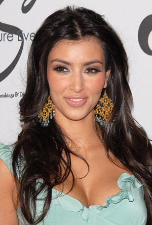 Kim Kardashian Cute Look Photo