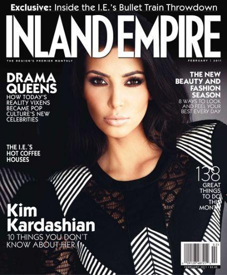 Kim Kardashian Inland Empire Magazine Still