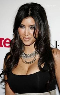 Kim Kardashian Sweet Smile Pic