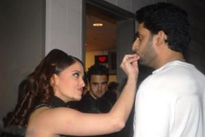 Abhishek and Aish Latest Cute Still
