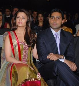 Abhishek Bachchan and Aishwarya Rai at Apsara Awards