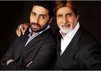 Abhishek Bachchan and Amitabh Latest Photo