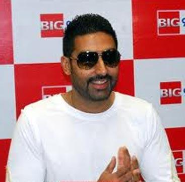 Abhishek Bachchan Promoting Delhi 6 at Big 92.7FM