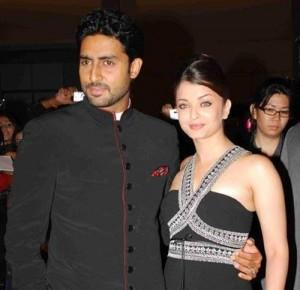 Beautiful Couple Abhi and Aish Photo
