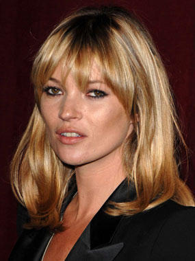 Kate Moss Brown Hair Cute Face Look Still