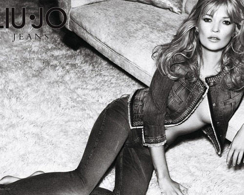 Kate Moss Sexiest Pose For Liu Jo Jeans