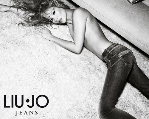 Kate Moss Topless Pic For Liu Jo Jeans