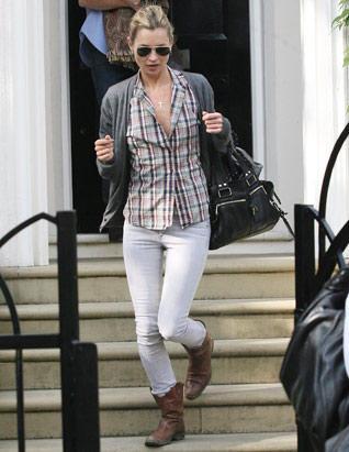 Stylist Kate Moss Stunning Pic