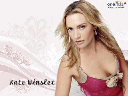 Kate Winslet Sexy Look Wallpaper