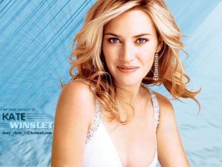 Kate Winslet Sweet Attractive Look Wallpaper