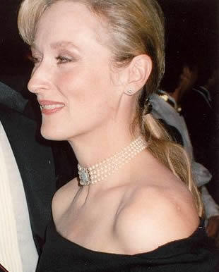 Meryl Streep Glowing Look Pic
