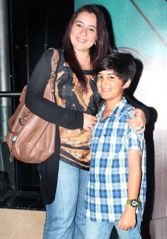 Celebs at Arjun The Warrior Prince Special Screening in Mumbai