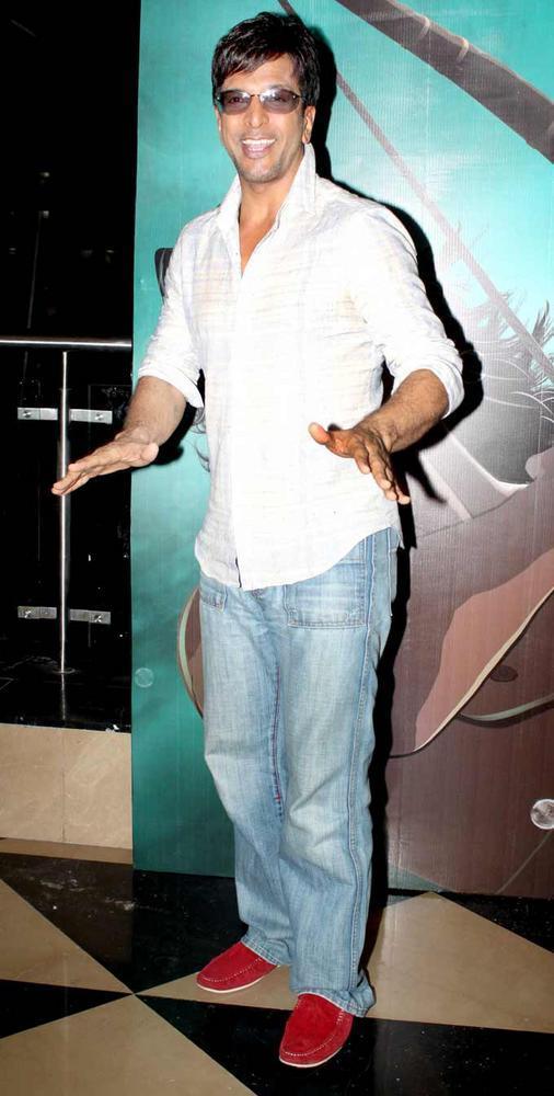 Javed at Arjun The Warrior Prince Special Screening in Mumbai