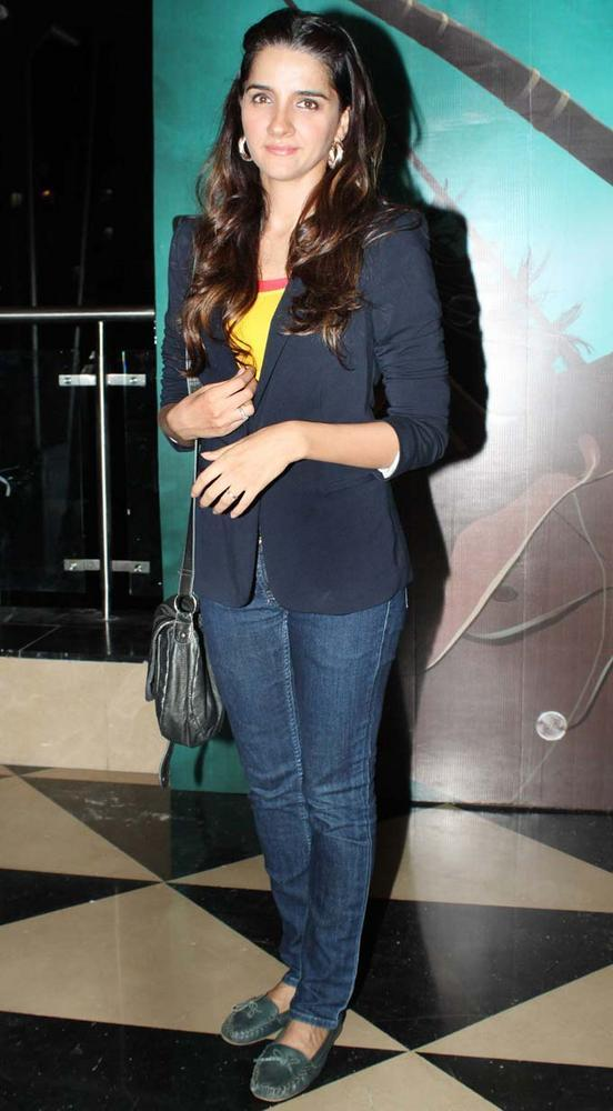 Shruthi Seth at Special Screening Arjun Animated Movie